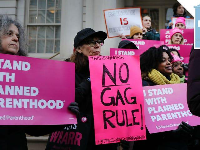 Suunniteltu vanhemmuus luopuu osaston X liittovaltion rahastoista yli Trump-Era Abortion Gag -säännön