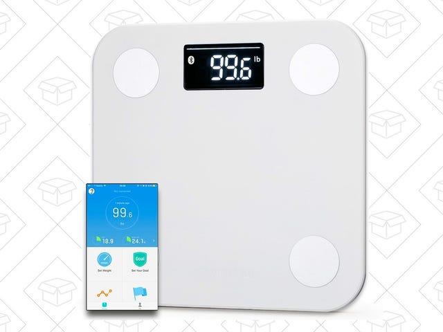 この$ 30 Bluetooth Smart Scaleで体重などを追跡しましょう