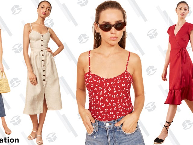 Reformation Is Taking Up to 50% Off Summer Styles