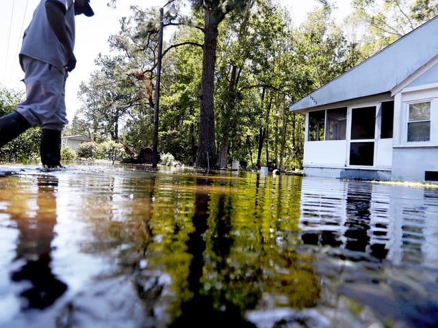 North Carolina Is Underwater After Hurricane Matthew