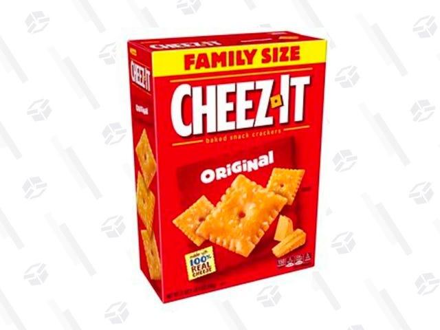 Snack på dessa tre familjeboxar med Cheez-its, bara $ 9