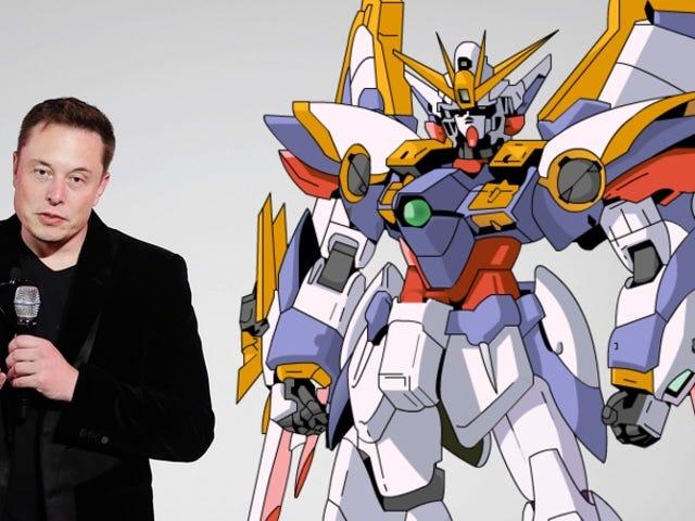Cuatro animes con el sellodeaprobacióndeElon Musk(quien ahora quiere construir un mecha)