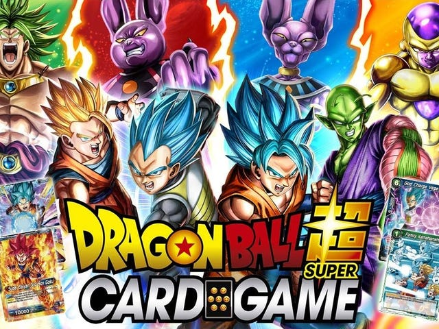 A Complete Newbie Tries The DragonBall Super Card Game