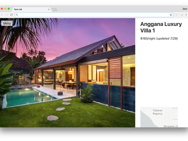 Discover Airbnb Locations to Visit in Every New Browser Tab