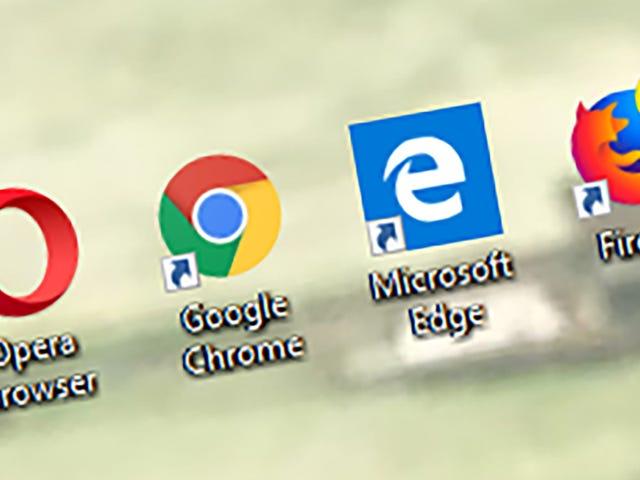 Cómo restablecer todos sus navegadores de nuevo a Square One