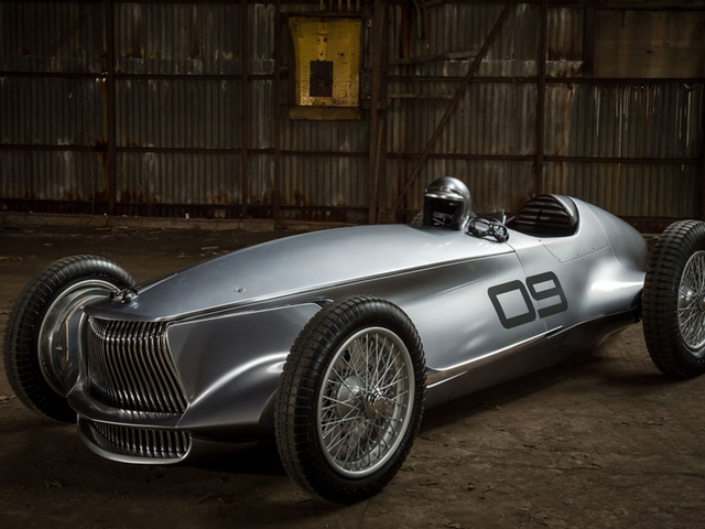 Infiniti's New Classic Grand Prix Racer Should Be Mocked But It's Too Damn Pretty