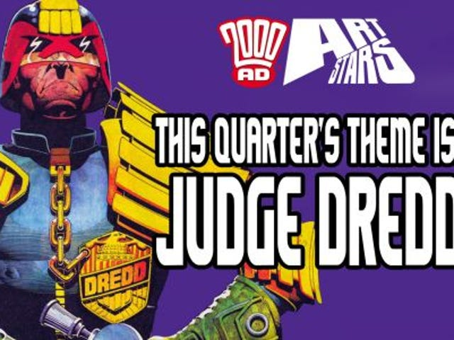 Quick draw for Dredd-full art contest