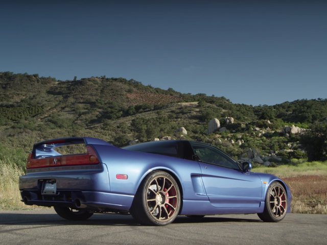Come Check Out A 230,000-Mile Acura NSX Right Now