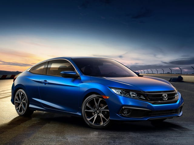 By the Grace of God The 2019 Honda Civic Sport Gets a Real Volume Knob