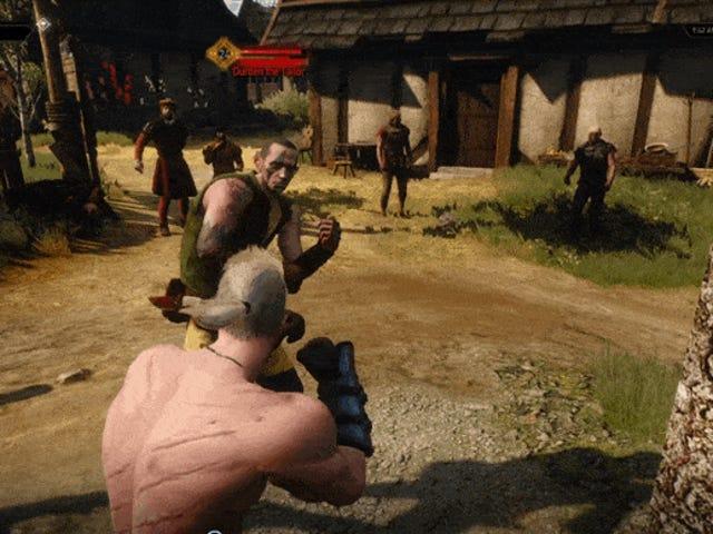 W <i>The Witcher 3</i> , Boxing przynosi Geralta Down To Earth