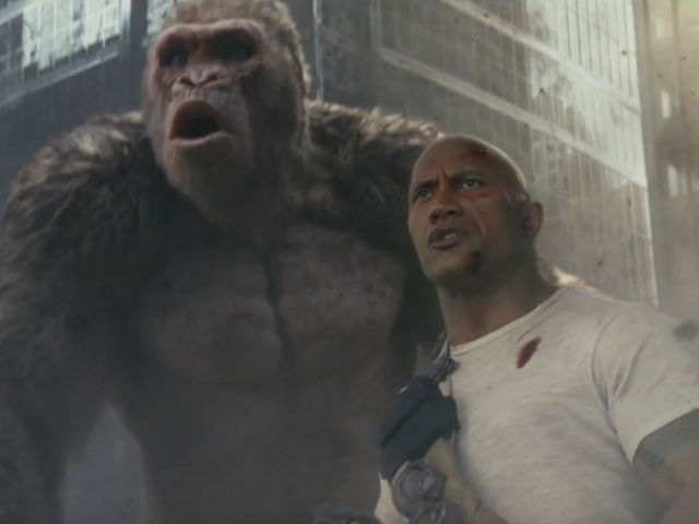 The Latest Rampage Trailer Knows Exactly How Silly the Movie Is