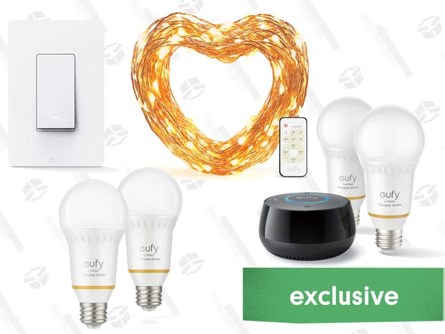 Light Up Your Life With 50% Off Anker's Smart Lighting Products [Exclusive]