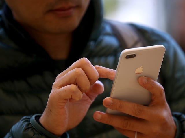 El Tribunal de los EE. UU. Encuentra una regla antirrobo que hace que casi todos los usuarios de teléfonos inteligentes sean delincuentes