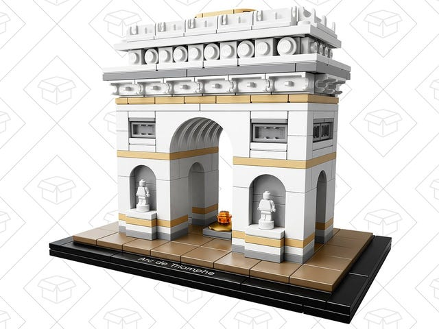 Build Your Own Arc De Triomphe With This $32 LEGO Kit