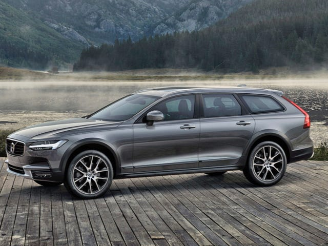 The 2018 Volvo V90 Cross Country Is The New Lifted Volvo Wagon Of Your Dreams