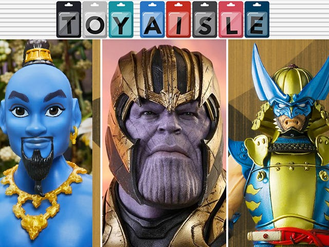 Thanos Gets a Suitably Smug Avengers: Endgame Figure, and More of the Most Triumphant Toys of the Week