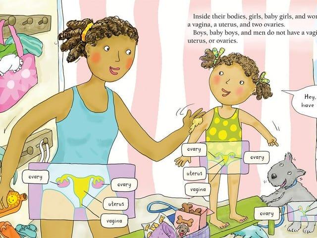 Naucz swoje dzieci anatomicznie poprawne nazwy ich części ciała