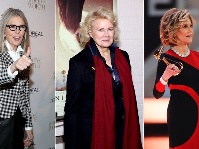 Diane Keaton, Jane Fonda et Candice Bergen font un film sur Reading <i>Fifty Shades</i> (???)