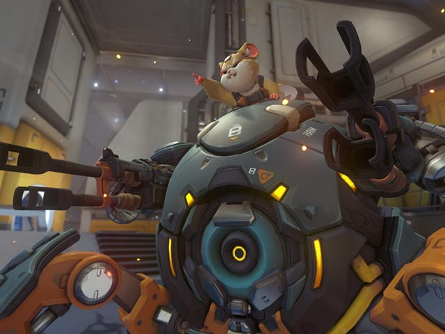Call Overwatch's Hamster Hammond, You Cowards