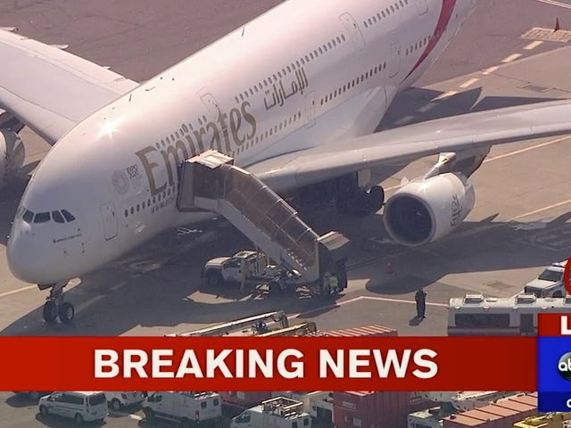 Plane Quarantined at JFK Airport After Passengers Mysteriously Fall Ill [Updated]