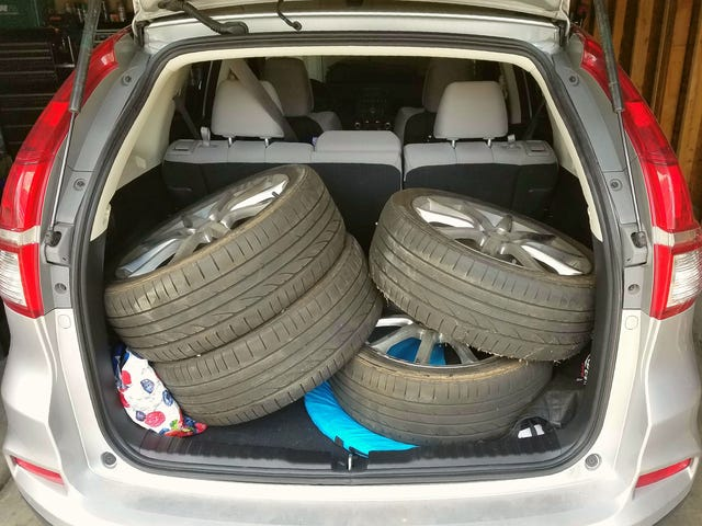 2016 CR-V Cargo Capacity Review (the thinly veiled new wheels post)