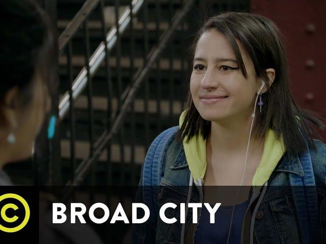 <i>Broad City</i> uusi kausi 4 Teaser on kuin liukuvat <i>Sliding Doors</i> mutta liikemiehellä