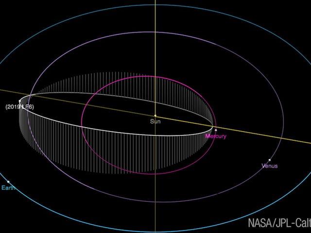 Cet astéroïde orbite si près du soleil que son année ne dure que 151 jours