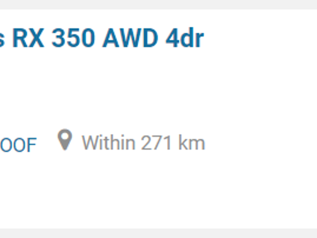 Was looking at Autotrader, when suddenly