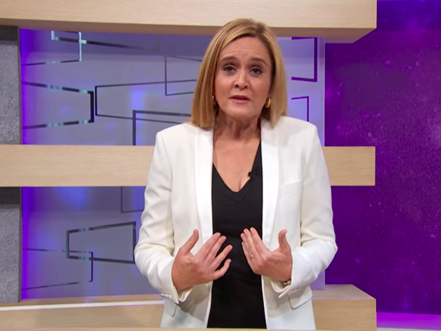 On Full Frontal, Samantha Bee apologizes for her bad words, waits for the outrage over Trump's cruel actions