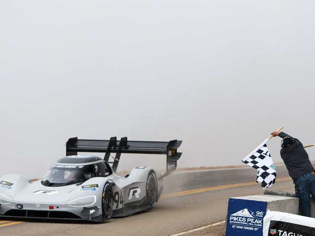 What It Was Like To See Pikes Peak's Record Get Obliterated By An Electric Car