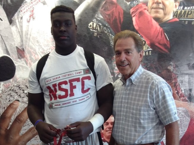 8th-Grader Gets Football Scholarship Offers From University of Ala., Ole Miss and Miss. State