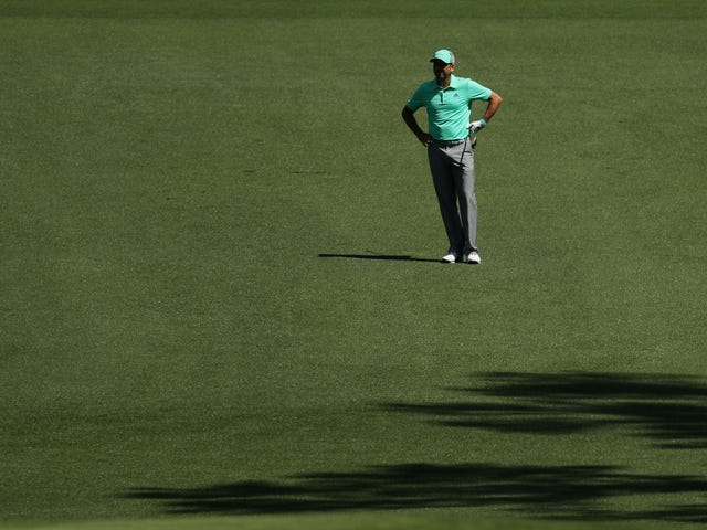 Sergio Garcia Does The Thing From That Golf Movie, Hits Five Straight Shots Into The Water On One Hole