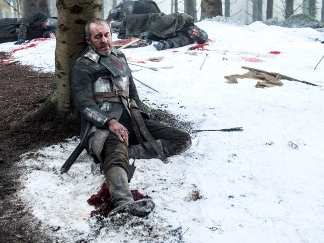 <i>Game of Thrones </i>Almost Gave Stannis a Much More Remorseful Death Scene<em></em>