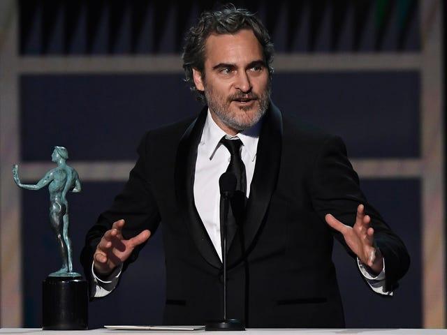 Joaquin Phoenix, Parasite, and Renée Zellweger win big at the SAG Awards