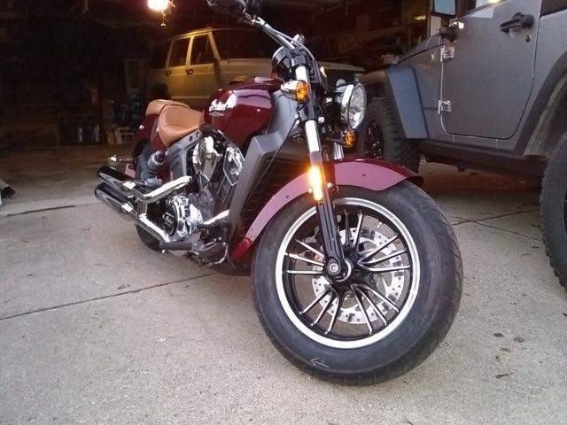 Injun Motorcycle Thing