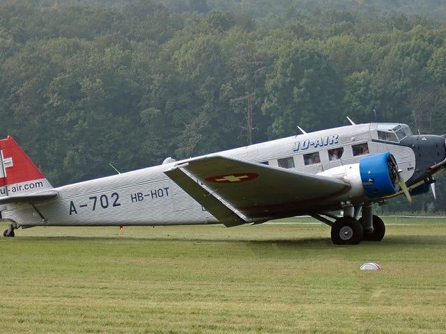 World War II-era Junkers Ju-52 Crashes in the Alps (Update)