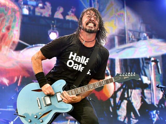 To takie czasy, w których Dave Grohl opowiada historie rock and rolla na Instagramie