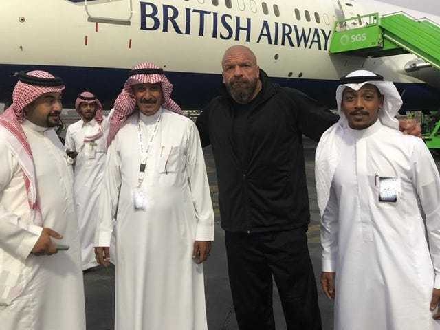 WWE Is Officially Going Ahead With Its Creepy Saudi Propaganda Spectacular