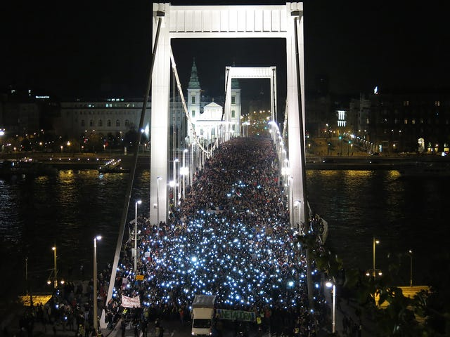 Protests Against Internet Tax in Hungary Continue—Larger Than Ever