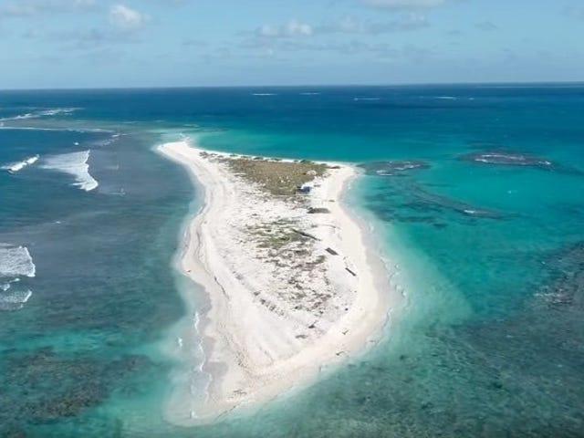 Científicos descubren que una isla de Hawái har desaparecido tras el paso del huracán Walaka