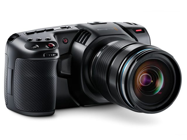 Blackmagic's Pocket Cinema Camera Returns With New 4K Video Powers