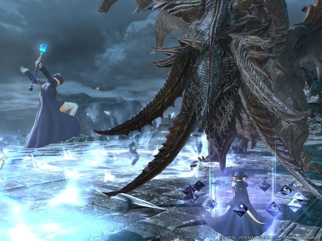 A Big Final Fantasy XIV Update Finally Makes Playing As Blue Mages Better