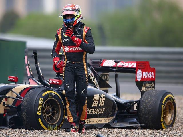 El pastor de bolas de demolición humana Maldonado puede regresar a la Fórmula Uno en 2017