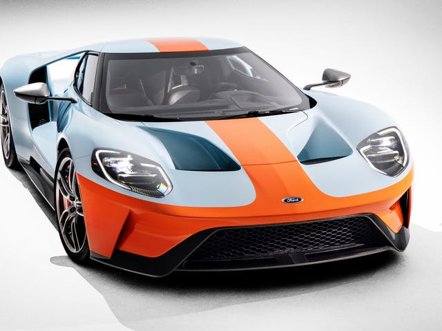 Settled: The New Ford GT Looks Best In Gulf Livery