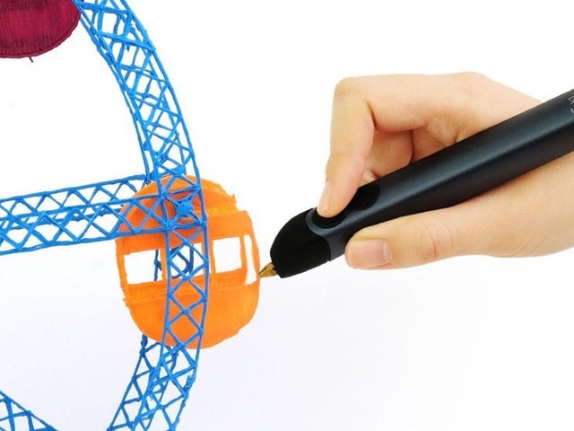 Draw In Three Dimensions With the 3Doodler, Now Just $18