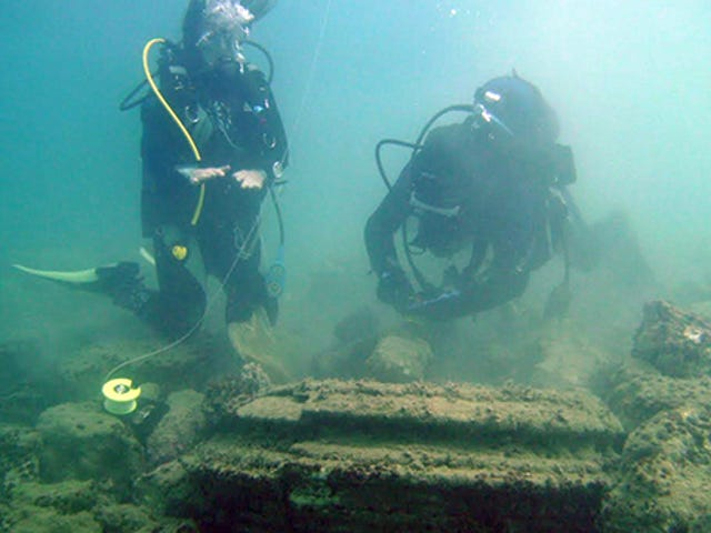 Submerged 'Lost City' is Actually a Naturally Occurring Phenomenon
