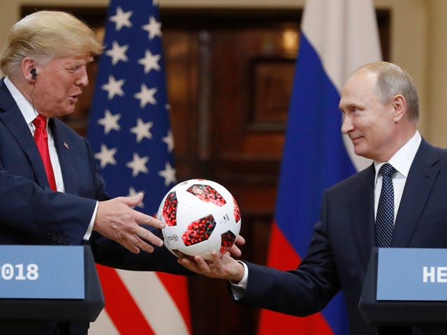 Turns Out That Soccer Ball Putin Gave Trump Has an NFC Chip in It, But It's Probably Harmless