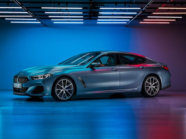 BMW 8 Series Gran Coupe Leaked Inside and Out