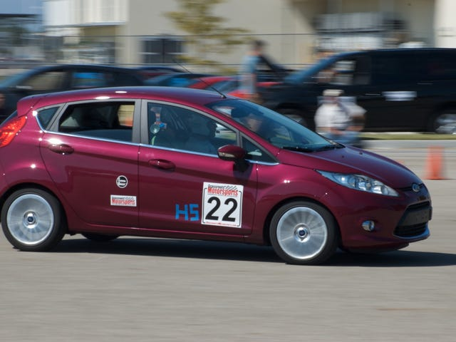 Stock Ford Fiesta (non-ST) banned from SCCA Autocross