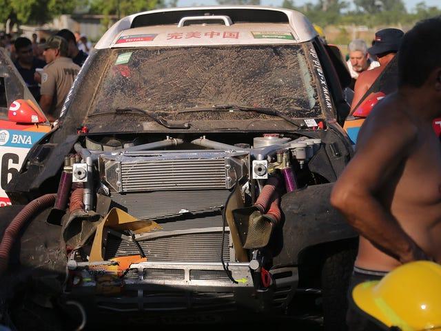 11 Cidera Di Reli Dakar Setelah Mobil Tombak Menjadi Kerumunan Saat Perlombaan Dimulai